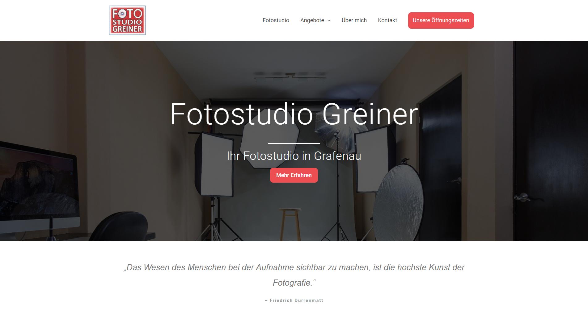 Fotostudio Greiner